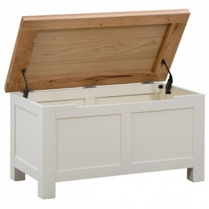Dorset Ivory Painted Furniture Blanket Box