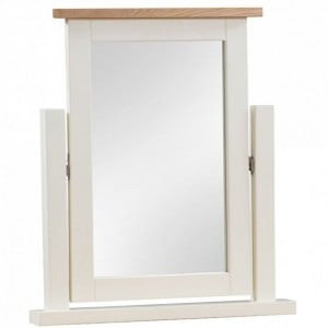 Dorset Ivory Painted Furniture Dressing Table Mirror