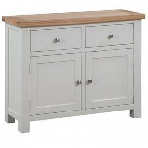 Dorset Ivory Painted Furniture 2 Door 2 Drawer Medium Sideboard
