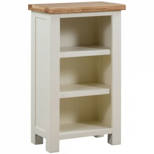 Dorset Ivory Painted Furniture Small Bookcase