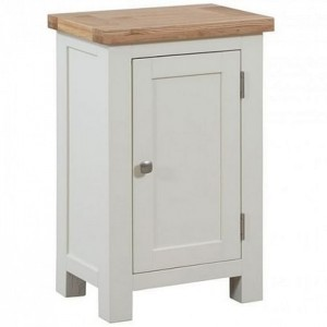 Devonshire Dorset Ivory Painted Furniture Small 1 Door Cabinet