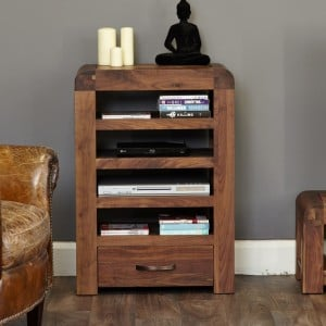 Shiro Walnut Furniture Entertainment Unit