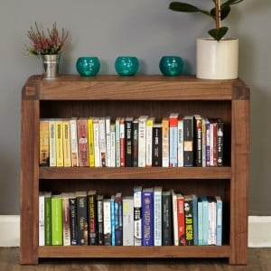 Shiro Walnut Furniture Low Bookcase