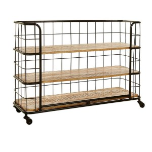 Crest Metal Furniture 3 Rack Shelf Unit