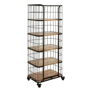 Crest Metal Furniture 5 Rack Shelf Unit