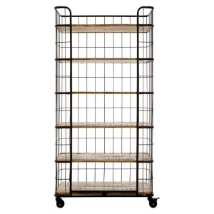 Crest Metal Furniture 6 Rack Shelf Unit