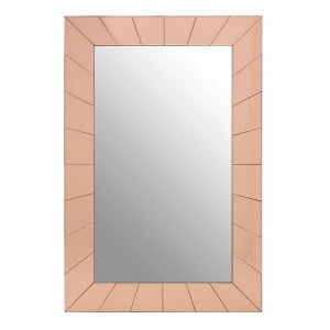 Kensington Townhouse Gold Metal and Mirrored Glass Earl Wall Mirror