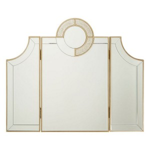 Knightsbridge Mirrored Glass Furniture Dressing Table Mirror