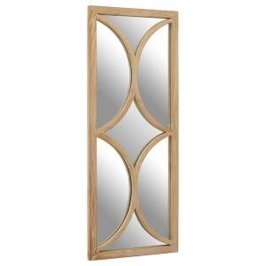 Kyra Grey Elm Wood Furniture Wall Mirror