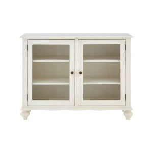 Loire Painted Furniture Display Cabinet with 2 Doors and 2 Shelves
