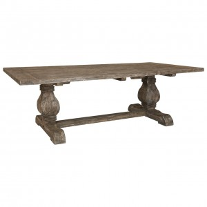 Lovina Reclaimed Pine Wood Furniture 240cm Fixed Top Dining Table