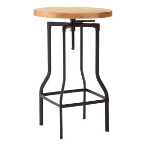 New Foundry Industrial Furniture Height Adjustable Kitchen Bar Table