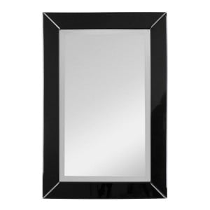 Orchid Mirrored Glass Furniture Rectangular Wall Mirror