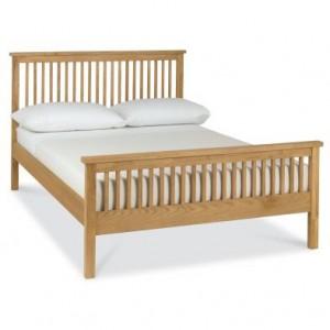 Atlanta Oak Furniture Double 4ft6 Bed
