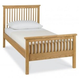 Atlanta Oak Furniture Single 3ft Bed