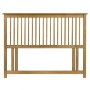 Atlanta Oak Furniture Double 4ft6 Headboard