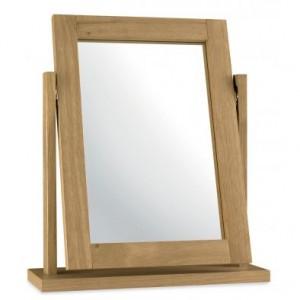 Atlanta Oak Furniture Dressing Table Vanity Mirror