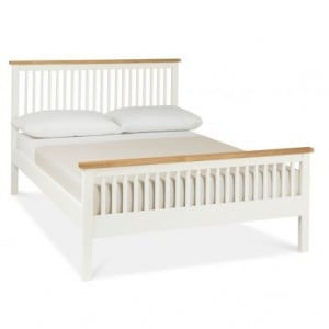 Atlanta Two Tone Painted Furniture Double 4ft6 Bed