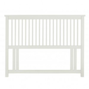Atlanta White Painted Furniture Double 4ft6 Headboard