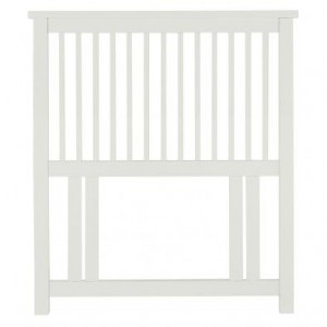 Atlanta White Painted Furniture Single 3ft Headboard