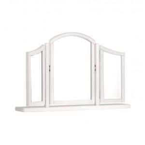 Bentley Designs Chantilly White Furniture Gallery Mirror
