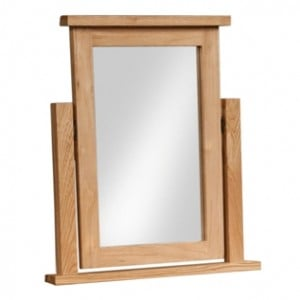 Devonshire Dorset Oak Furniture Dressing Table Mirror