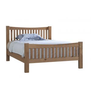 Devonshire Dorset Oak Furniture Double 4ft6 Bed
