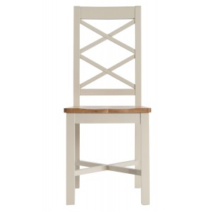 Intone Painted Furniture Wooden Seat Dining Chair