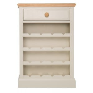 Intone Painted Furniture Wine Rack Cabinet