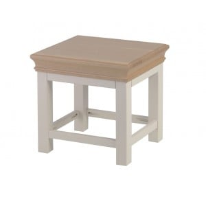Lundy Painted Oak Furniture Side Table - PRE ORDER