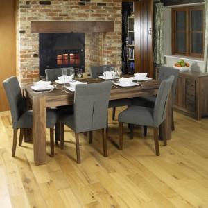 Mayan Walnut Furniture 8 Seater Dining Table