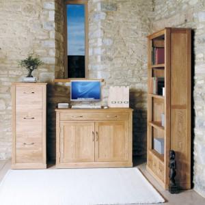 Mobel Oak Furniture Hidden Home Office Computer Desk- PRE ORDER