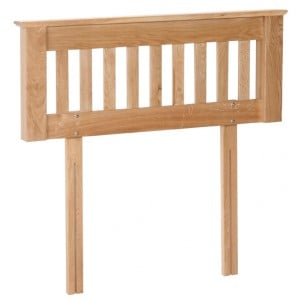 Devonshire New Oak Furniture 3ft Headboard