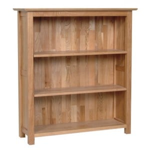 Devonshire New Oak Furniture 3ft Bookcase