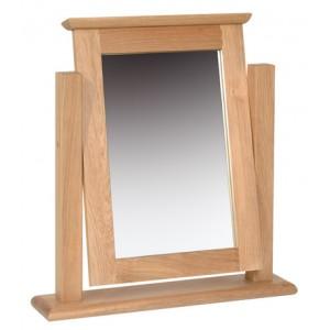 Devonshire New Oak Furniture Dressing Table Mirror