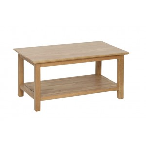 Devonshire New Oak Furniture Large Coffee Table