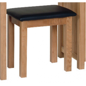 Devonshire New Oak Furniture Dressing Table Stool