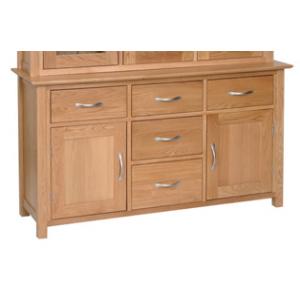 Devonshire New Oak Furniture 4ft 6 Dresser Base