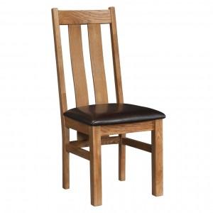 Devonshire Rustic Oak Furniture Arizona Dining Chair