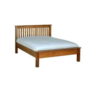 Devonshire Rustic Oak Furniture Double Bed