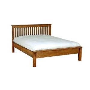 Devonshire Rustic Oak Furniture King Size Bed