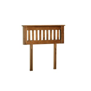 Devonshire Rustic Oak Furniture Single Slatted Headboard