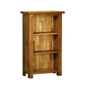 Devonshire Rustic Oak Furniture CD/DVD Rack