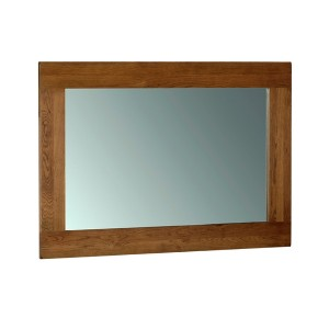 Devonshire Rustic Oak Furniture Wall Mirror 1300x900