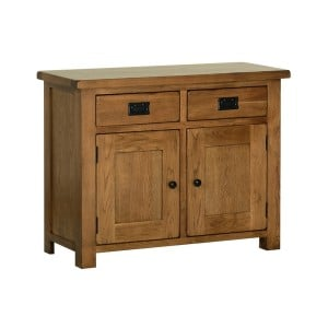 Devonshire Rustic Oak Furniture 3ft Dresser Base