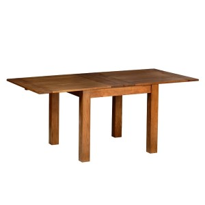 Devonshire Rustic Oak Furniture Medium Flip Top Extending Table