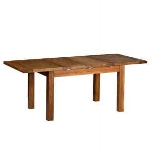 Devonshire Rustic Oak Furniture 132-199cm Extending Table