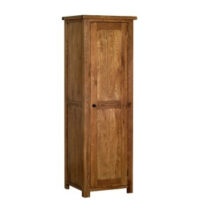 Devonshire Rustic Oak Furniture Single Wardrobe