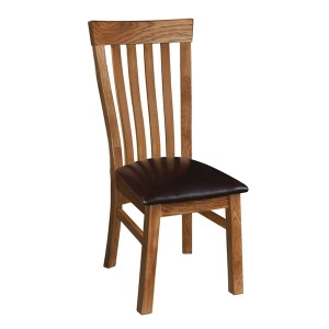 Devonshire Rustic Oak Furniture Toulouse Dining Chair