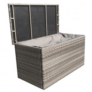 Signature Weave Garden Furniture Triple Garden Furniture Medium Cushion Storage Box